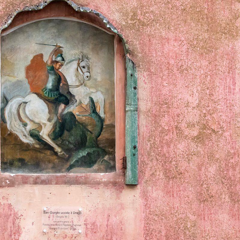 Restauro Edicole Votive del centro storico di Matino